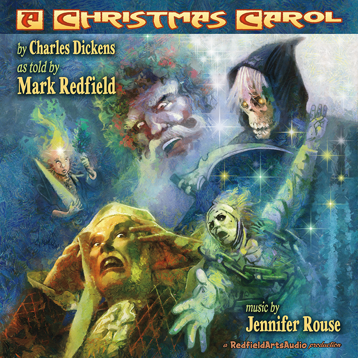 A Christmas Carol By Charles Dickens As Told By Mark Redfield