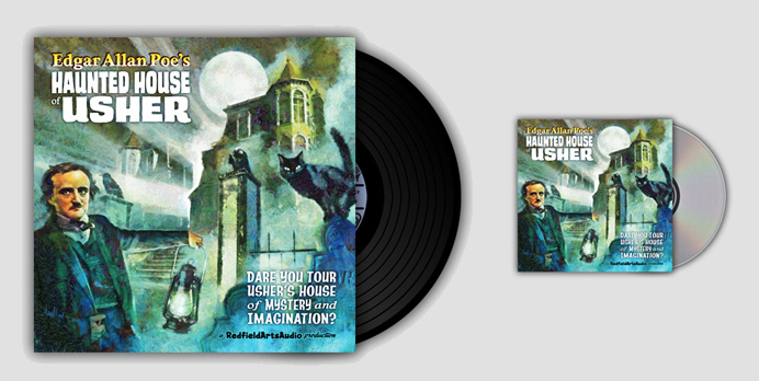 CD and LP - Poe Haunted House Of Usher