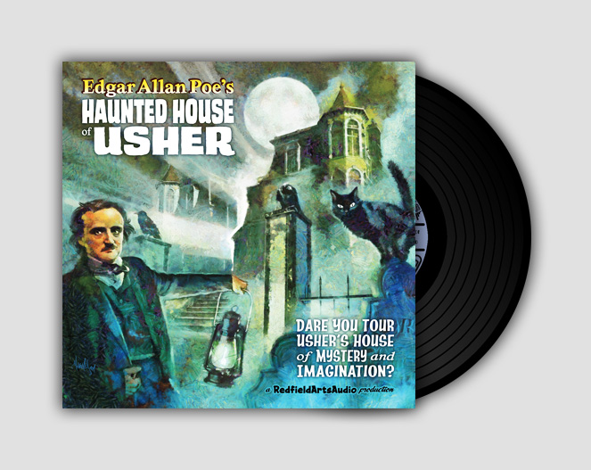 LP-Poe Haunted House Of Usher