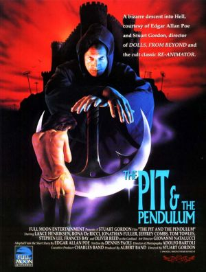 cover art for the pit and the pendulum movie poster