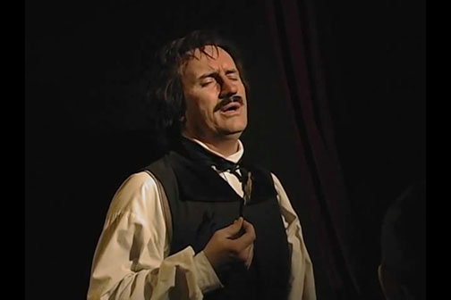 Jeffrey Combs in Nevermore: An Evening with Edgar Allan Poe.
